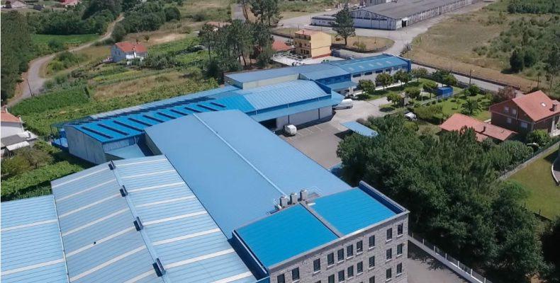 Imagen de la instalación solar fotovoltaica de LEMA en Valga
