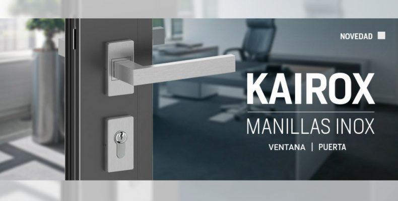 Manillas inoxidables Kairox para puerta y ventana web