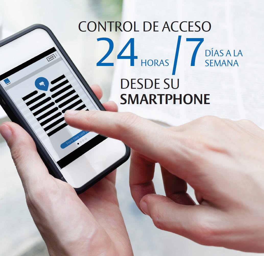 Imagen control de acceso 24 horas ENTR™ de TESA
