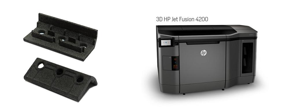 Imagen de la Impresora 3D con la que se fabria el calzo para la bisagra ACRUX FR de STAC y HP