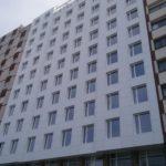 Imagen de fachada Hotel Riazor con LEMA STACBOND FR