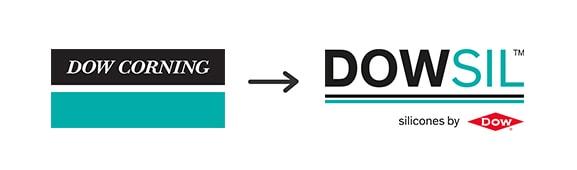 Imagen que explica el paso de Dow Corning a DOWSIL
