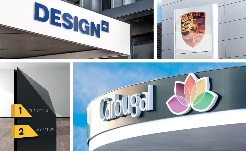 Imagen de aplicaciones del panel composite DESIGN+
