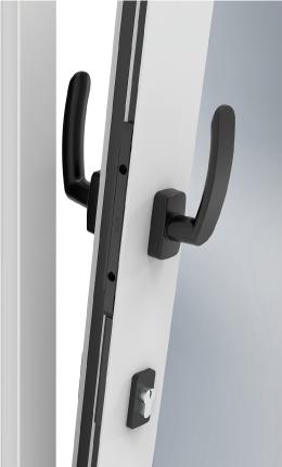 Imagen de la puerta oscilobatiente de STAC