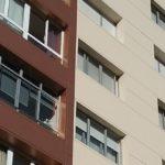 Rehabilitación de fachadas en Marín con dos colores LEMA STACBOND