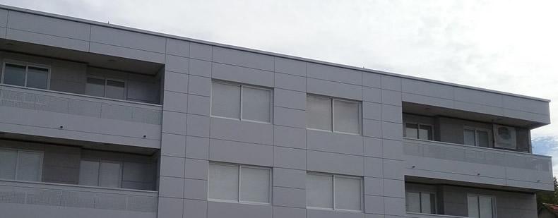 Imagen segunda de soluciones completas LEMA STACBOND para fachadas y balcones en Tui