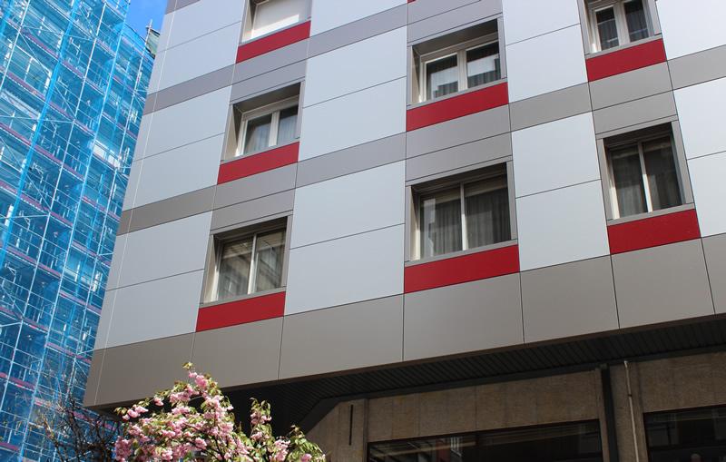 Imagen principal de la noticia rehabilitación de fachadas en Santiago de Compostela