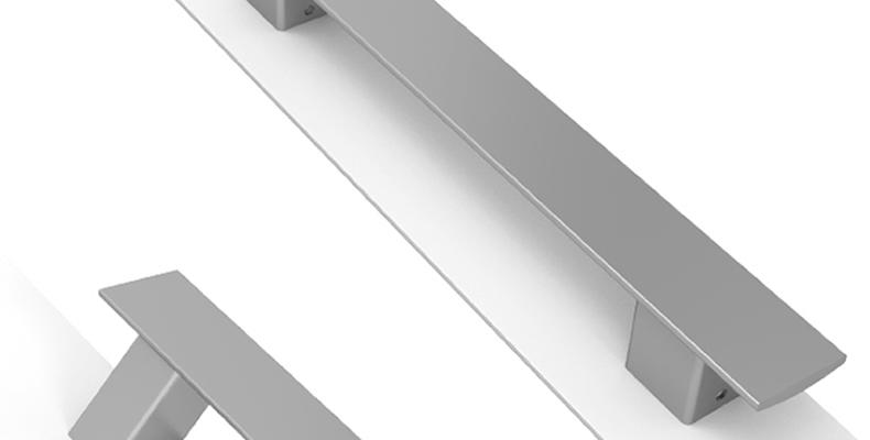 Imagen principal de los Tiradores TAU, la nueva línea de tiradores minimalistas para puerta
