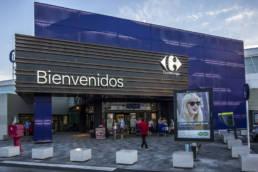 Imagen principal del Centro Comercial Carrefour en Torrevieja con las soluciones LEMA