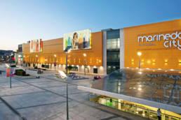 Fachada Centro Comercial Marineda City – A Coruña