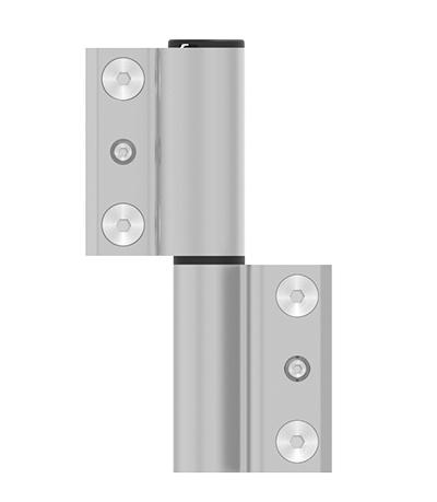 Imagen de Bisagra de puerta ACRUX para Canal Europeo - Vista frontal