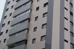 LEMA STACBOND y panel cerámico para fachadas ventiladas en Vigo