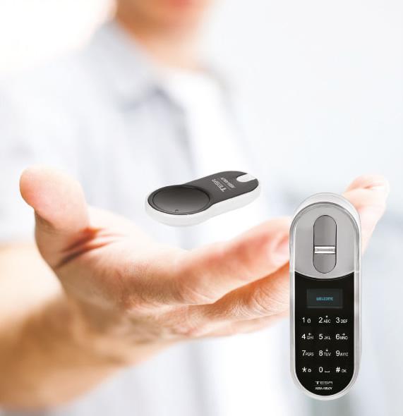 Imagen mando a distancia ENTR™ de TESA
