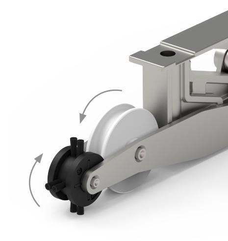 Imagen detalle de Corredera Elevable LS200 de STAC