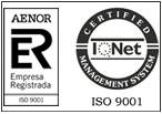 Imagen de logotipo AENOR 9001 mini