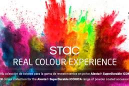 Imagen de la unión de STAC y Axalta Coating Systems en la aplicación STAC REAL COLOUR EXPERIENCE