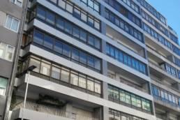 Imagen de la rehabilitación de fachadas con LEMA STACBOND 01