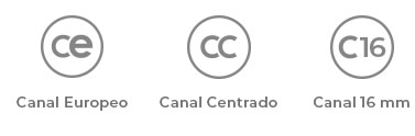 Imagen características diferentes canales ACRUX - Nueva línea de bisagras para puerta