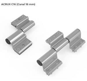 Imagen detalle Canal 16 ACRUX - Nueva línea de bisagras para puerta