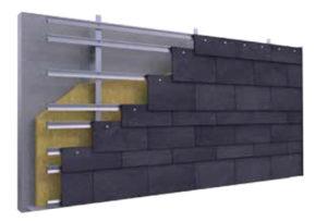 Imagen Random de CUPACLAD, fachadas ventiladas en pizarra natural