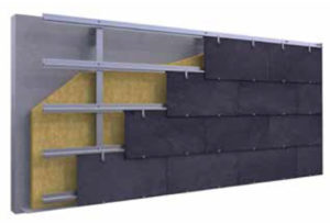 Imagen Vanguard de CUPACLAD, fachadas ventiladas en pizarra natural