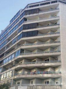 Imagen principal anterior a la obra de la fachada ventilada en Travesía de Vigo 140 - 142