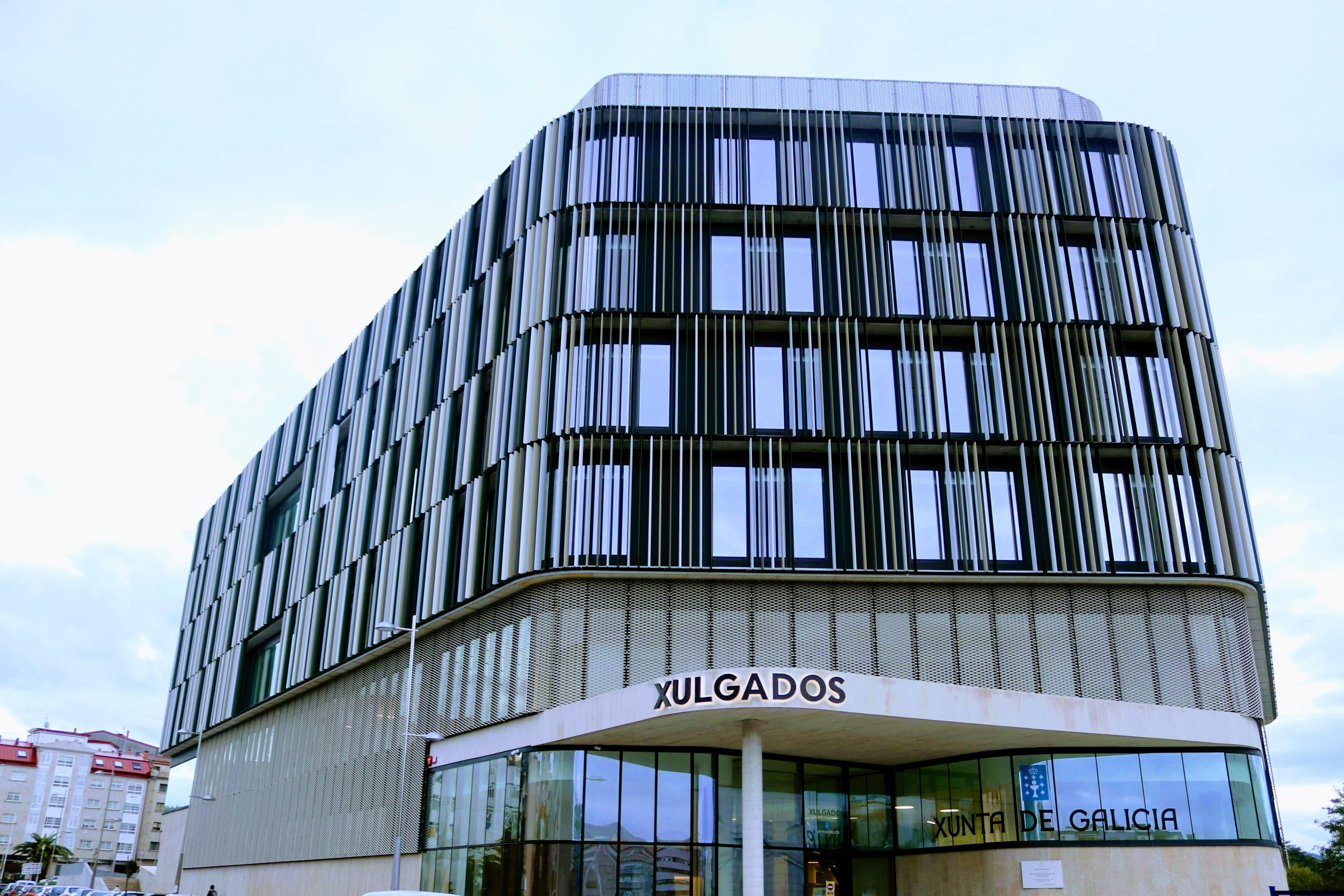 Imagen principal construcción de la sede judicial de Pontevedra