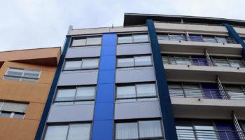 Imagen principal de la fachada con grandes resultados LEMA STACBOND con Sistema STB-SZ en Vigo