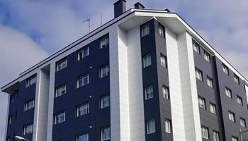Imagen principal obra de fachada ventilada en A Estrada - Sueirogal