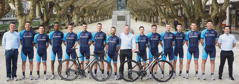 Equipo élite del Club Ciclista Padronés