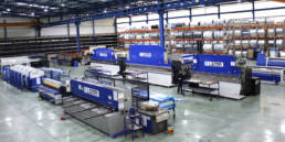 Imagen principal de las líneas de producción de Laminados LEMA