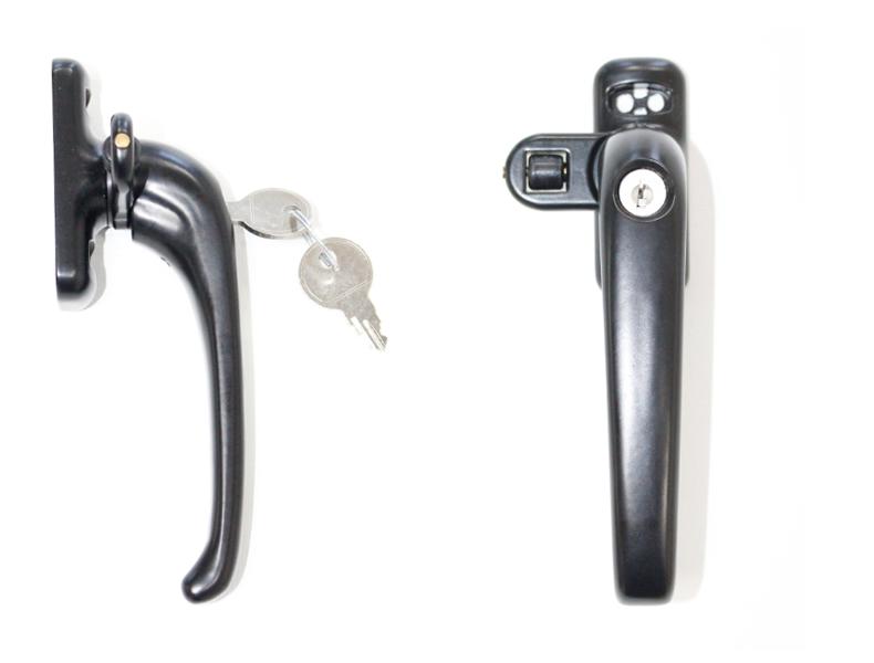 Imagen principal del cierre de presión con llave de Tovic de color negro varias posiciones