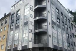 Imagen principal de la obra de rehabilitación del Hotel Conde de Lemos