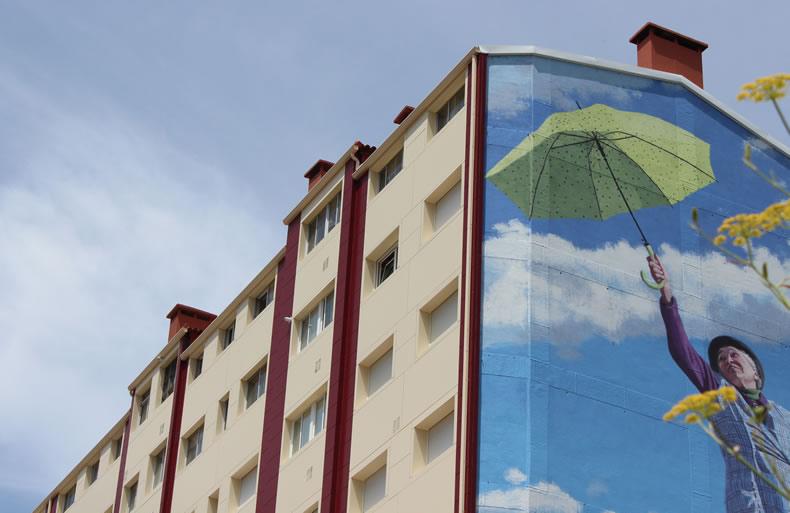 Imagen detalle de la obra en Romero Donallo con soluciones LEMA STACBOND