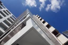 Imagen principal del artículo sobre Revestimiento de fachadas y balconeras en edificio de viviendas en A Coruña