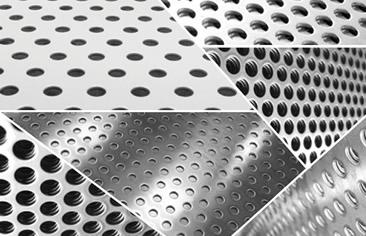 Imagen de la chapa perforada ajugeros redondos LEMA