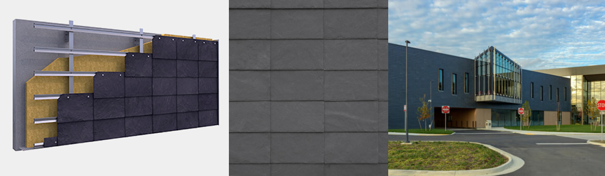 Imagen principal de Sistemas CUPACLAD para fachada ventilada PARALLEL 101